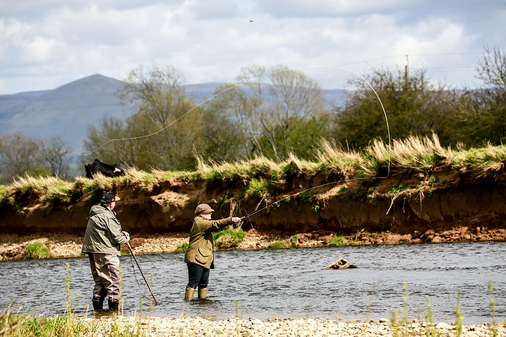 fly fishing break with tuition