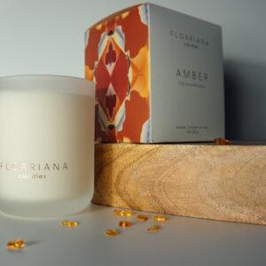 Florriana Amber Candle