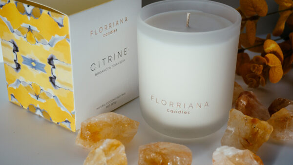 Florrianna Candles - Citrine