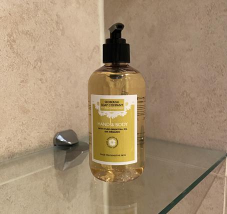 Lemongrass liquid soap