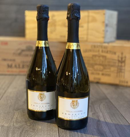 Two Bottles of Villa Ardesia Prosecco